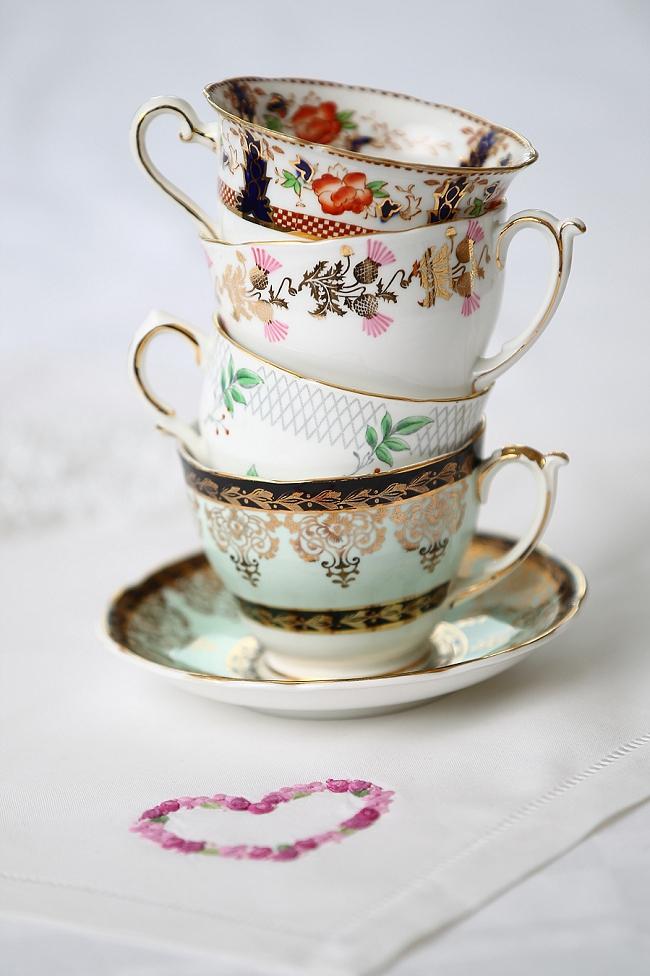 Porzellanverleih für englisches Vintage-Geschirr ...