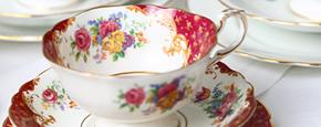 Lieschen und Ruth Vintage Tasse Lady Hamilton