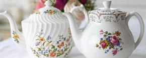 Lieschen und Ruth Vintage Teekannen