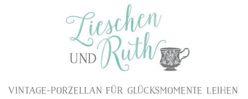 Lieschen und Ruth - Vintage Geschirr und Dekoration für Hochzeiten leihen